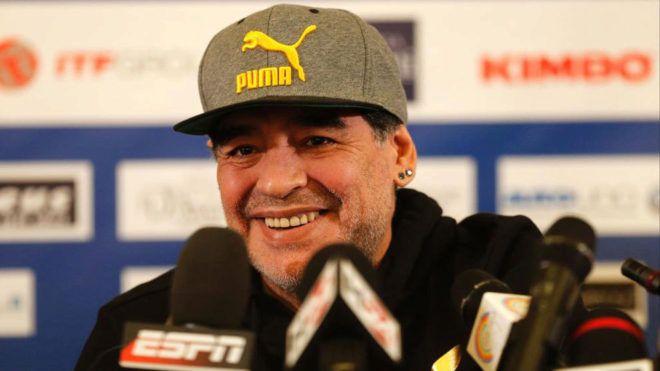 Maradona habló sobre las drogas y Napoli - Crédito: marca.com