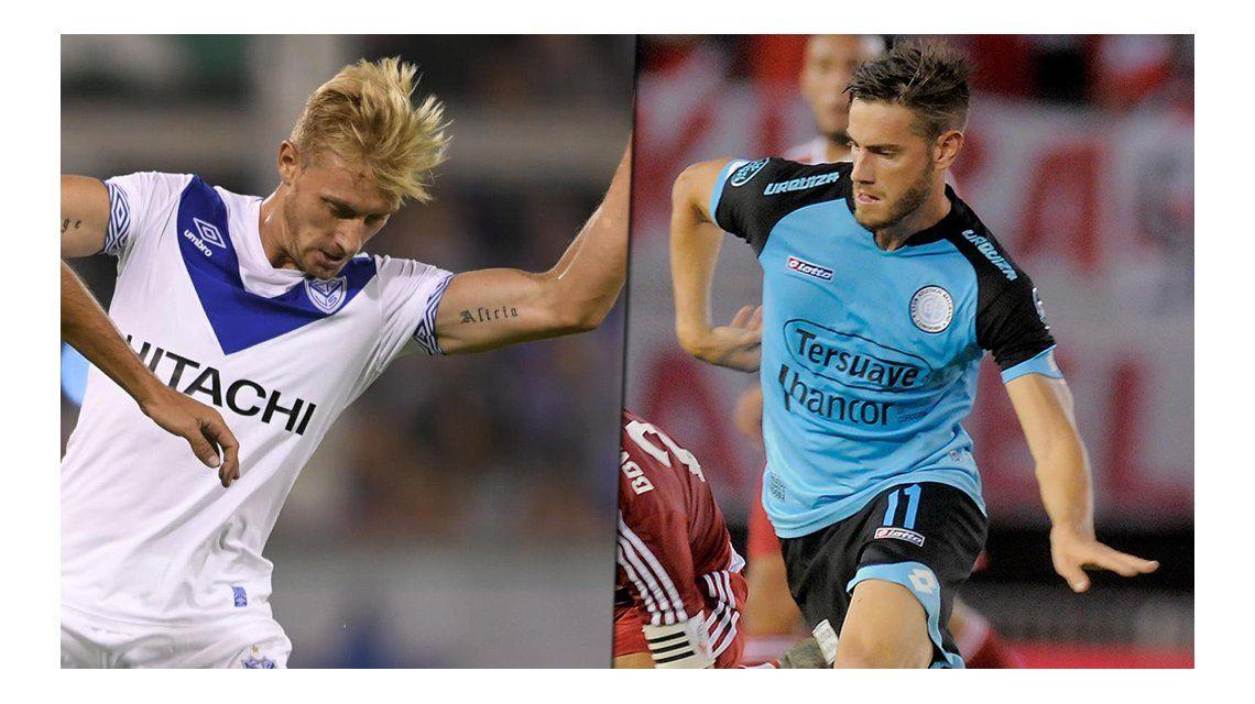 Belgrano le ganó a Vélez en un choque clave en el Amalfitani