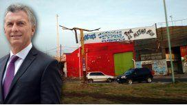 Macri fue criticado en La Matanza