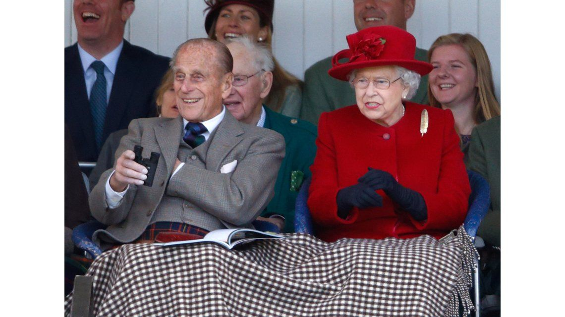 Felipe de Edimburgo y la Reina Isabel II
