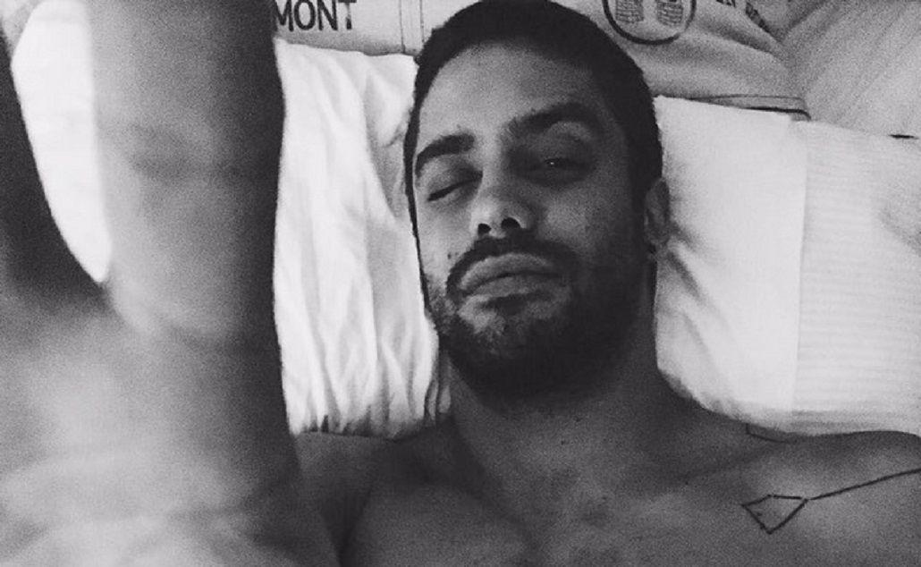 Guilera subió una foto hot a Instagram