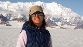 Rescataron a la argentina atrapada en una montaña en Canadá