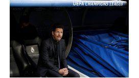 La desolación del Cholo Simeone tras la goleada ante el Real Madrid