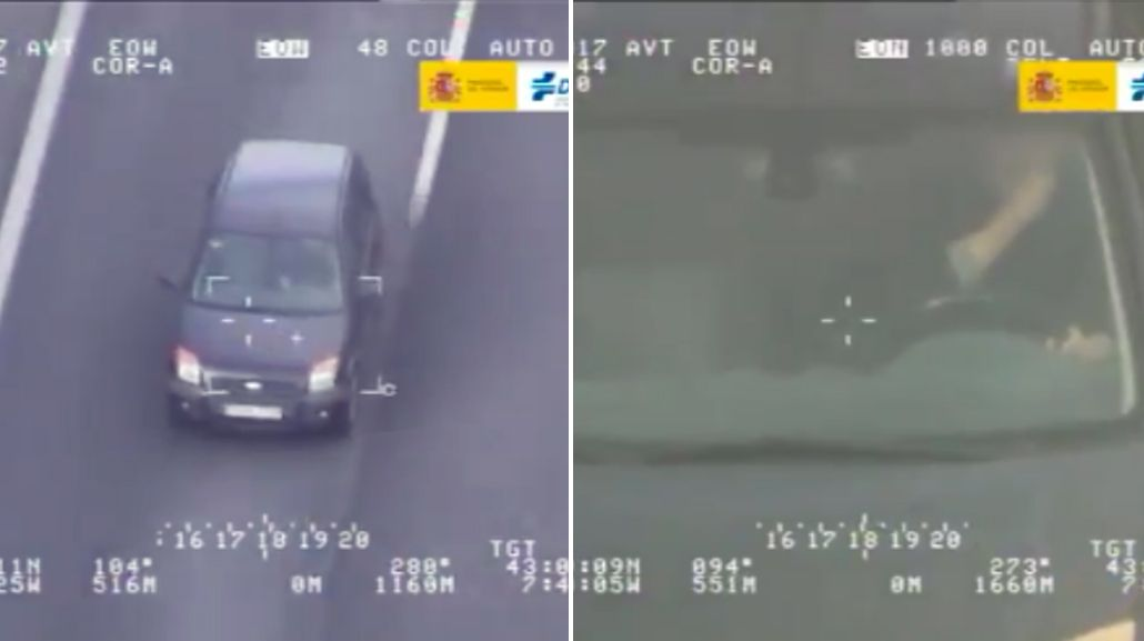 Un conductor cometió una llamativa infracción en España