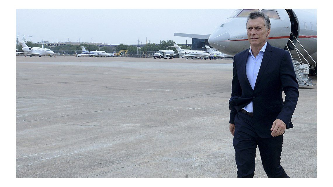 Macri llegó a Estados Unidos