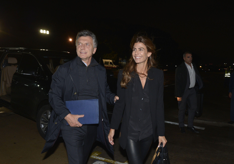 Macri viajó a Estados Unidos junto a Juliana Awada