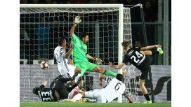 Juventus se descuidó sobre el final y Atalanta le ahogó la victoria