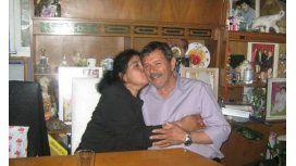 Margarita Barrientos con Isidro Antúnez