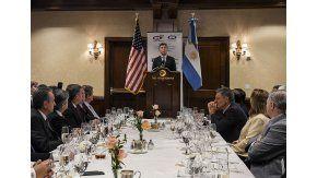 Macri compartió un almuerzo con petroleros