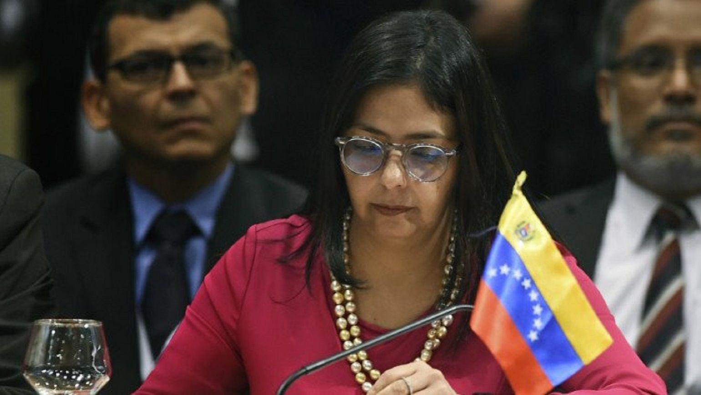 Canciller venezolana Delcy Rodríguez