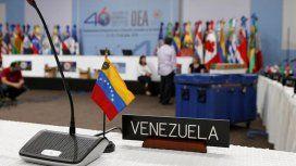 Venezuela anunció su retiro de la OEA