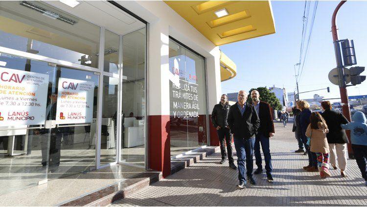 Nuevo centro de Atención Vecinal en Lanús