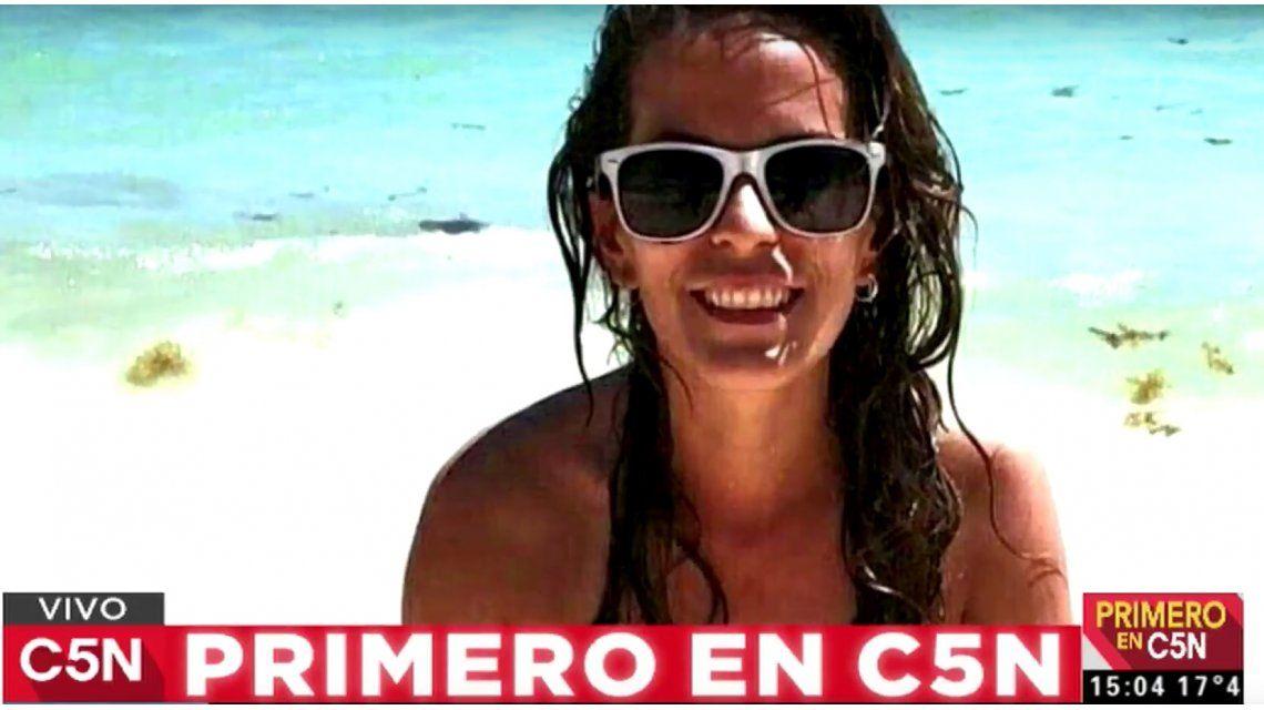 Ella es la joven argentina encontrada muerta en Playa del Carmen