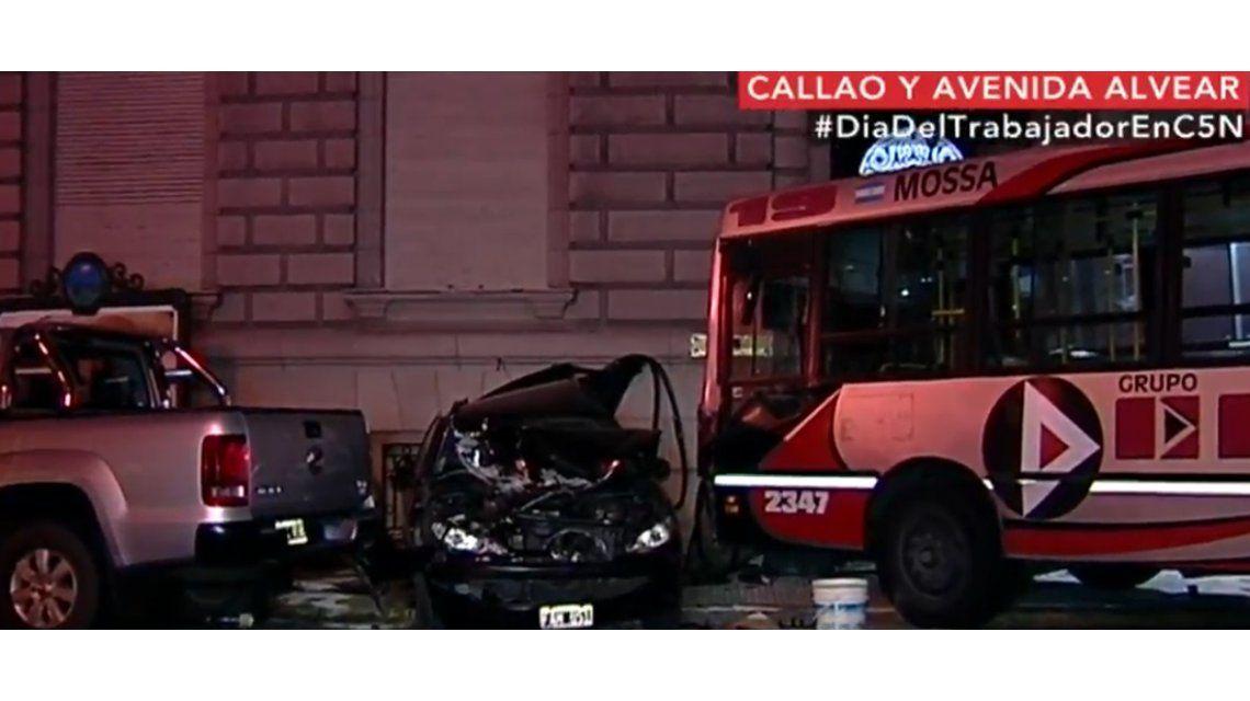 Ocurrió en Callao y Marcelo T de Alvear