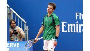 La cara de resignación de Zeballos, que perdió ante Nadal en semifinales de Barcelona
