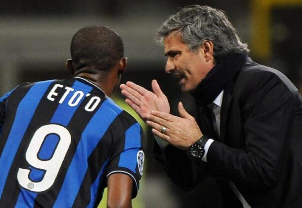Etoo revela la arenga que dio en la final de la Champions League de 2010