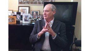 Enrique Marucci en su despacho