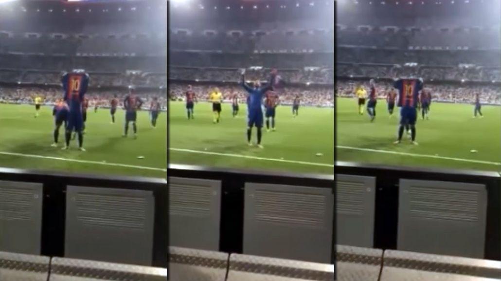En primera persona: así se vivió el histórico festejo de Lionel Messi desde la tribuna