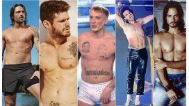 Tinelli y los hombres del Bailando: ¿Abdominales o pancita?