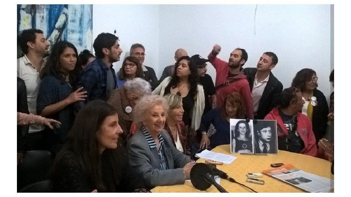 Las abuelas confirmaron la recuperación el nieto 122