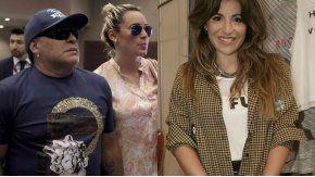Gianinna Maradona, a puro insulto con Rocío Oliva y Diego Maradona
