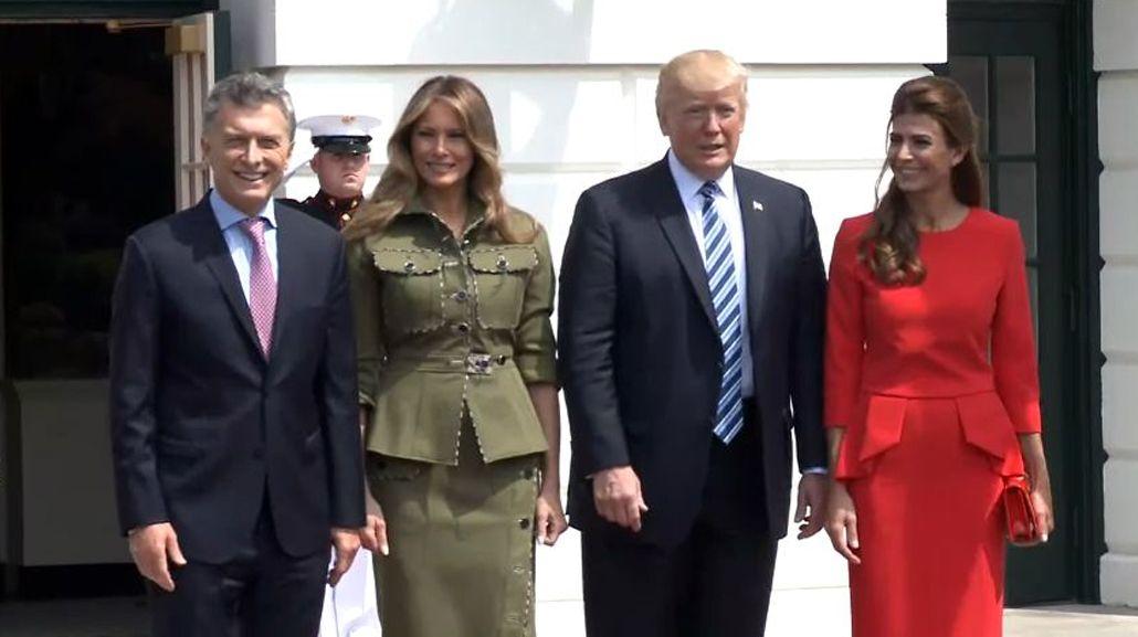Macri y Trump juntos en la Casa Blanca