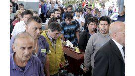 Inhumaron los restos de Araceli en el cementerio de San Martín