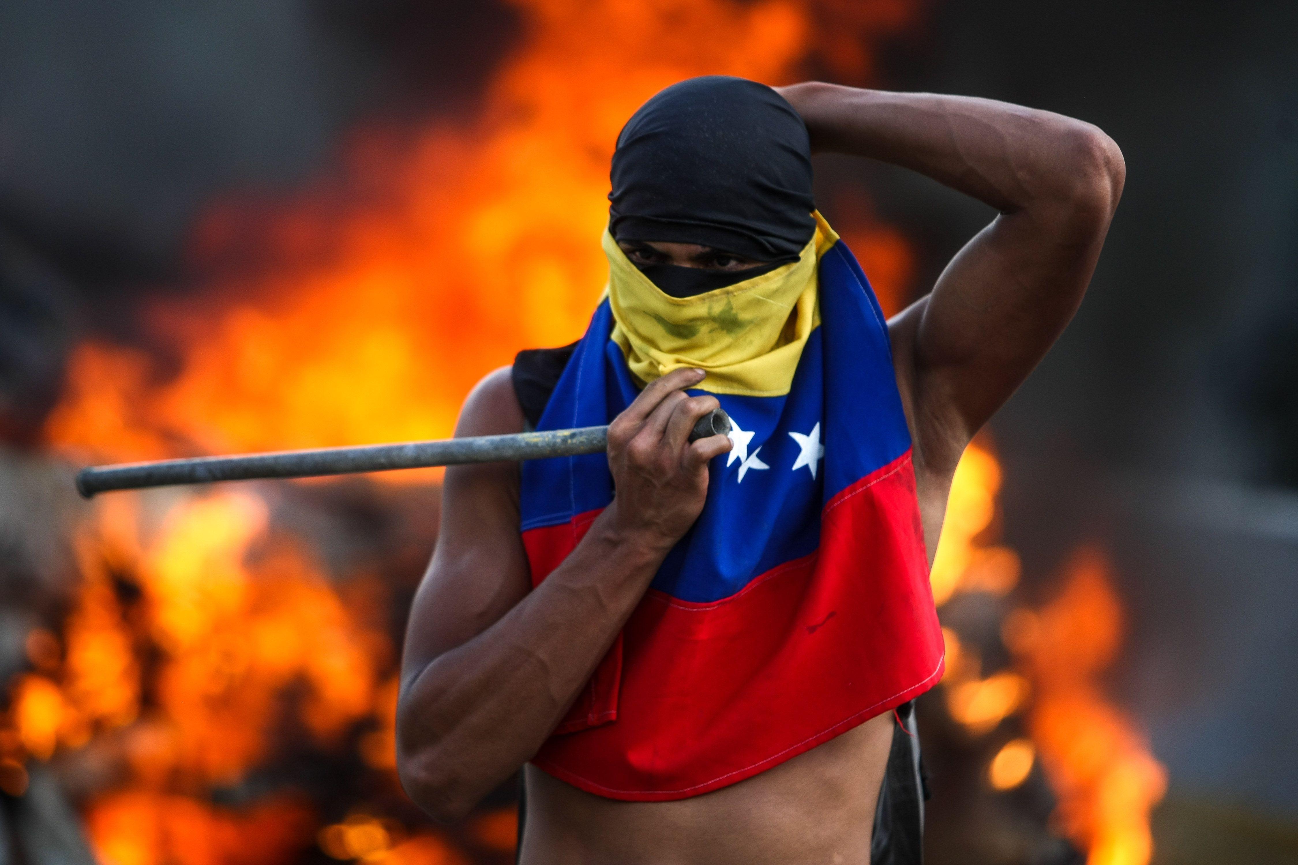 Plantón Nacional en Venezuela