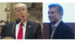 Donald Trump y Mauricio Macri