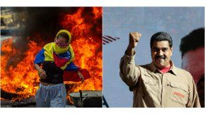 Protestas en Venezuela y Nicolás Maduro