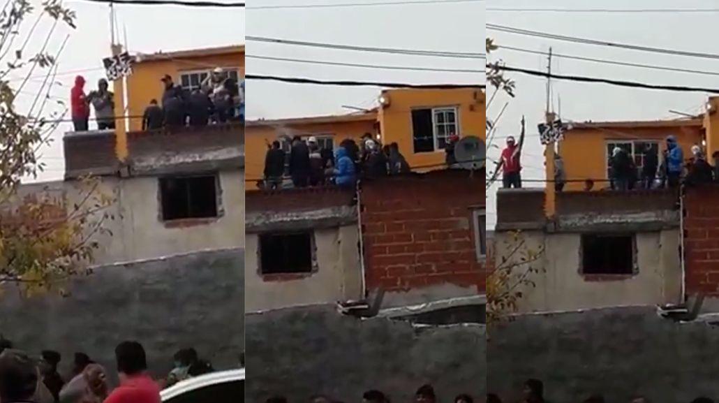 VIDEO: Ladrón se mató cuando iba a ser detenido y lo despiden con ráfaga de disparos