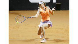 La rusa Sharapova, otra vez en acción en Stuttgart