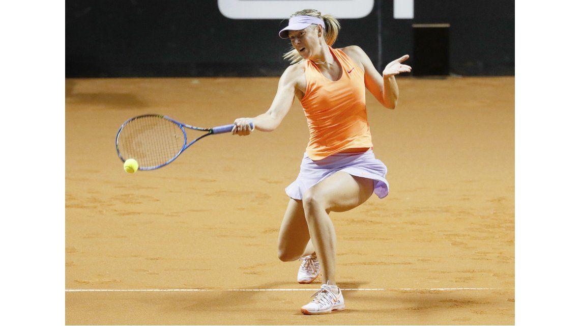 La rusa Sharapova