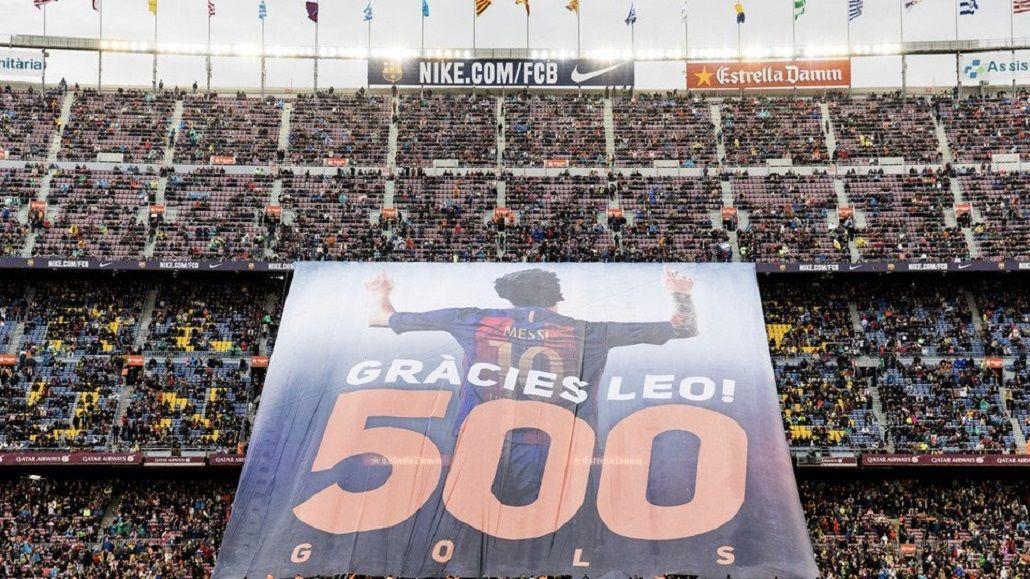 El tributo que le rindió el Camp Nou a Lionel Messi