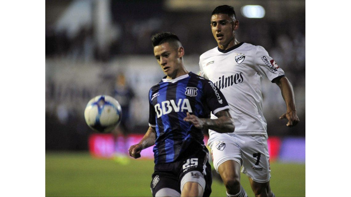 Quilmes venció a Talleres con gol de Orihuela y ganó por primera vez en 2017