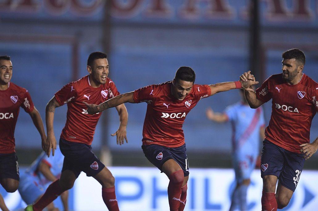 Independiente le ganó a Arsenal