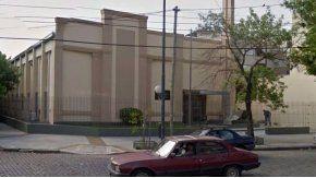 La iglesia está ubicada en el barrio de Vélez Sarfield