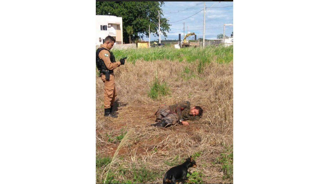 Parte de la banda del robo del siglo en Paraguay se tiroteó en Brasil. Fuente: diario Hoy
