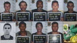 Estos son los detenidos por el golpe comando en la Triple Frontera