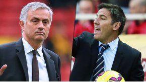 Eduardo Berizzo y Mourinho chocan en semis de la Liga de Europa