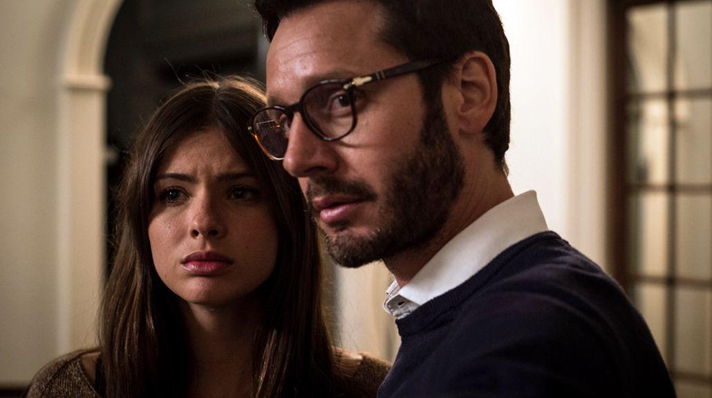 La China y Vicuña como Paula Vanussi y Pablo Rouviot