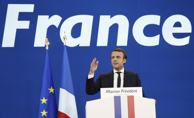 Macron se impuso en la primera vuelta pero habrá balotaje en Francia