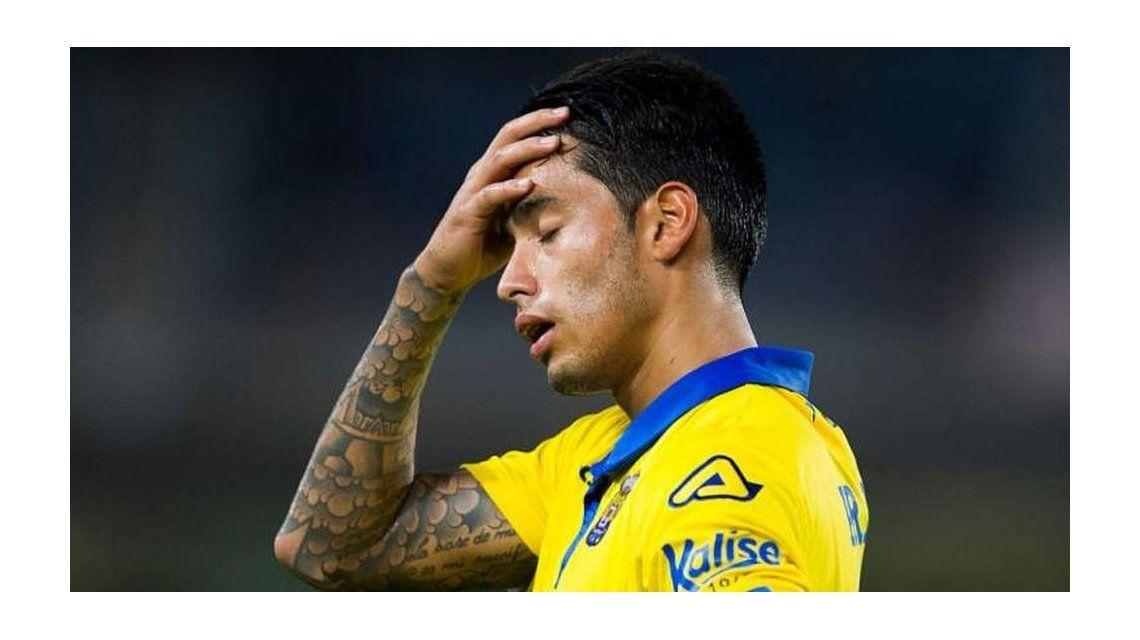 Sergio Araujo debió dejar Las Palmas y se fue al AEK de Grecia