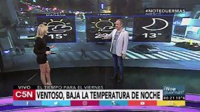 Pronóstico del tiempo del viernes 21 de abril de 2017