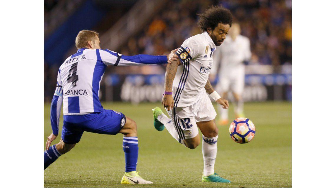 El lateral brasileño Marcelo
