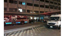 Un principio de incendio afectó la torre de control del aeropuerto de Ezeiza