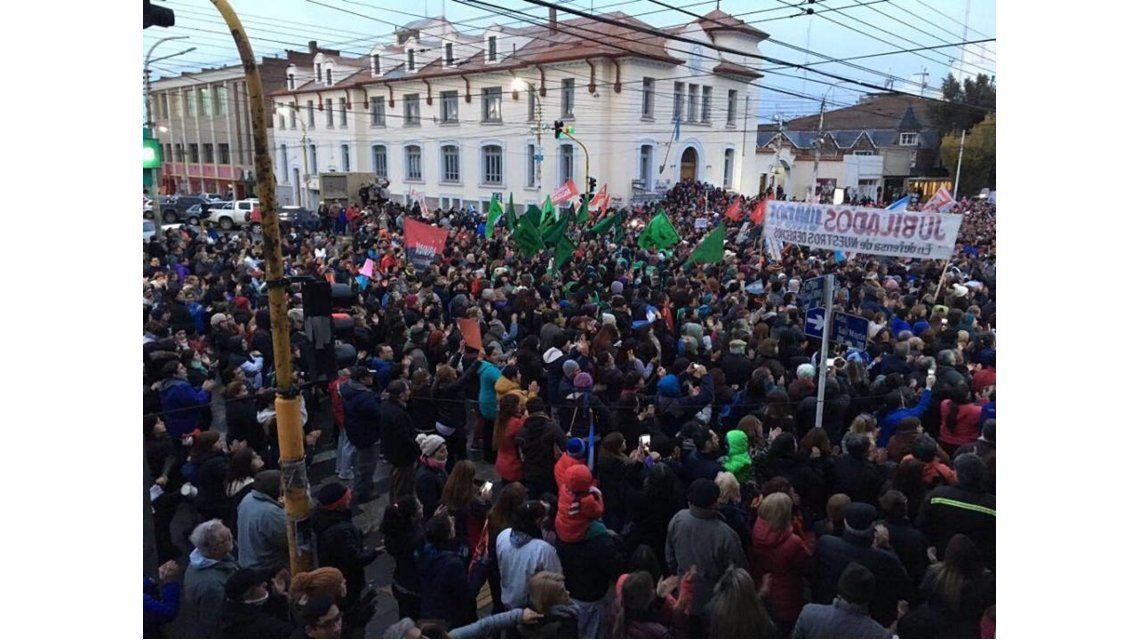 Movilización en Santa Cruz