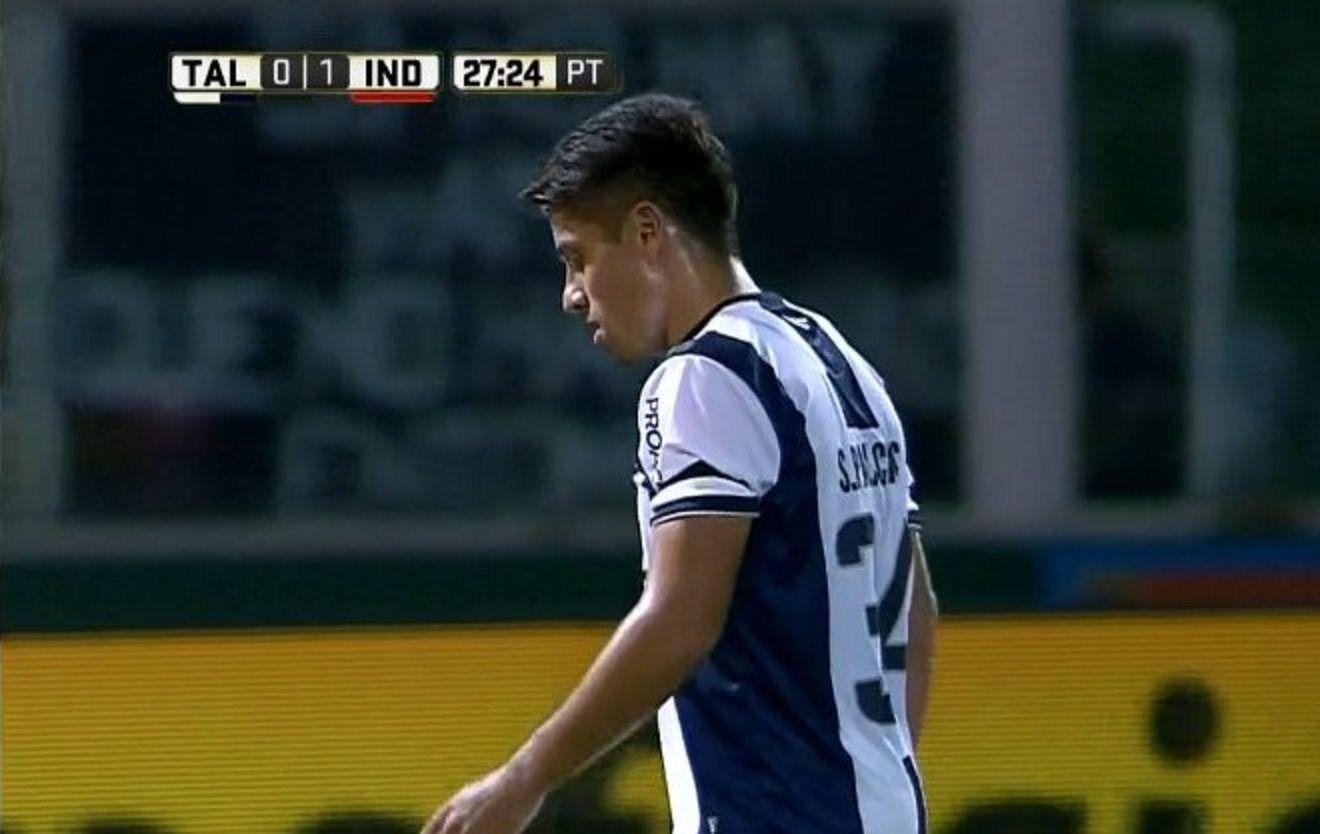 Palacios convirtió un gol en contra