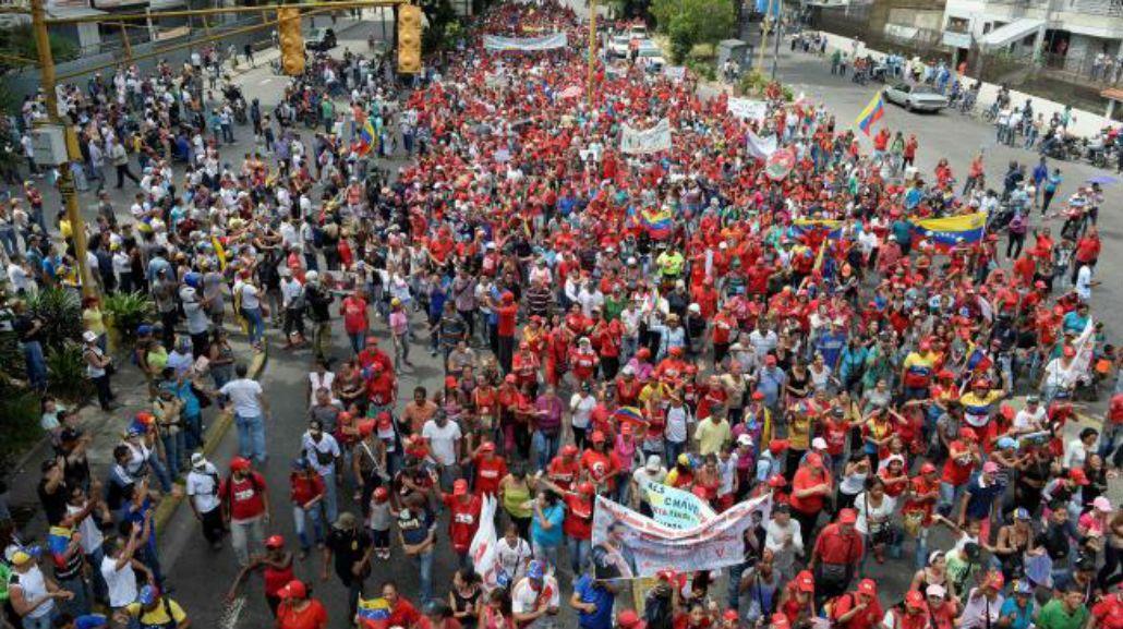 Hay manifestaciones en todo el país.