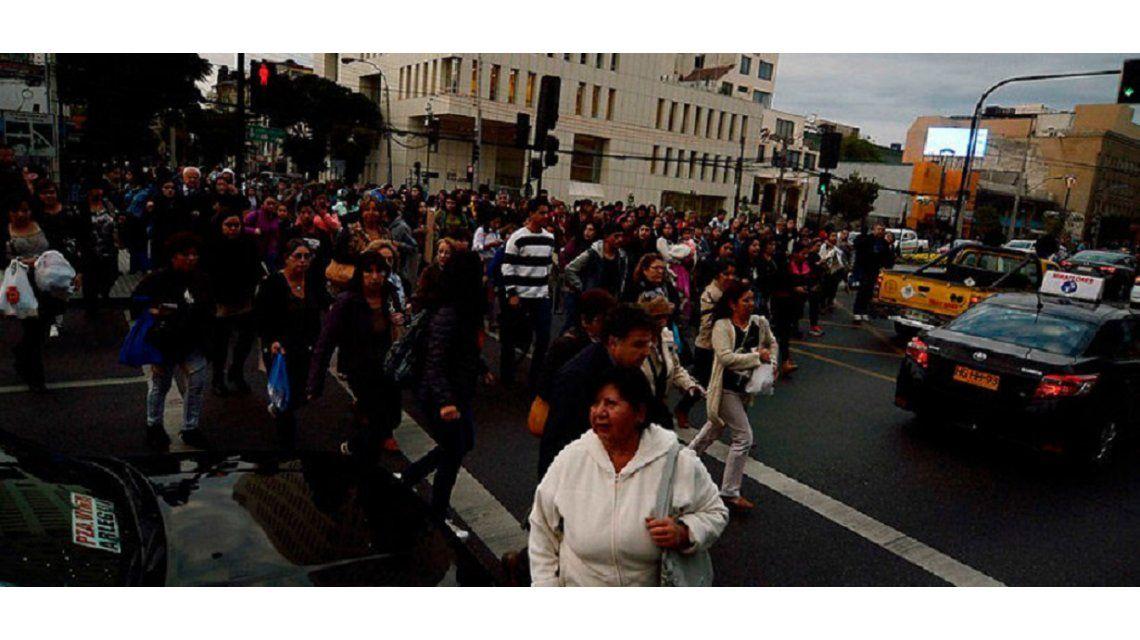 Sismo de 6.7 en la escala Richter en Chile - Crédito:Agenciauno